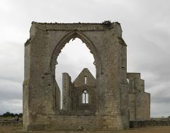 Ancienne abbaye Notre-Dame de Ré, dite des Châteliers - This image was uploaded as part of Wiki Loves Monuments 2012.