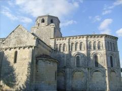 Eglise Saint-Vivien -  Eglise romane de Geay