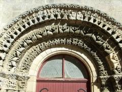 Eglise Saint-Symphorien -  Voussures de l'église