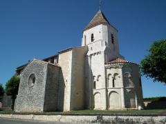 Eglise Saint-Romain - Français:   L\'église romane de Guitinières