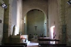 Eglise Saint-Martin - Français:   Nef de l\'église Saint-Martin Île d\'Aix Charente-Maritime France