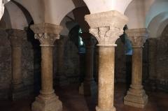 Eglise Saint-Martin - Français:   Crypte de l\'église Saint-Martin Île d\'Aix Charente-Maritime France