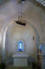 Eglise Saint-Martin - Français:   Église Saint-Martin Île-d\'Aix,  Charente-Maritime, France
