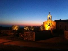 Eglise Sainte-Madeleine - Français:   église ste madeleine en nocturne