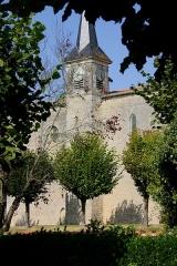 Eglise Saint-Pierre - Église Saint-Pierre de Landes