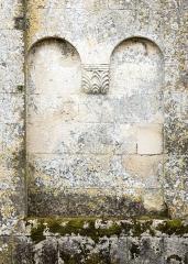 Eglise Saint-Sulpice - English: Detail of the romanesque church Saint-Sulpitius in Marignac, Charente-Maritime, France.