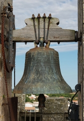 Eglise Saint-Pierre - English: Bell of the Église Saint Pierre at Marsilly, Charente-Maritime, France