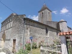 Eglise Saint-Martin du Petit-Niort - English: Église Saint-Martin du Petit-Niort PA00104808 (Mirambeau, Charente-Maritime)
