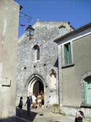 Eglise Saint-Pierre -  Façade de l'église