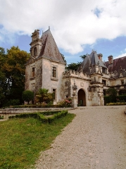 Château des Egreteaux, dit château d'Usson -  Château d'Usson.