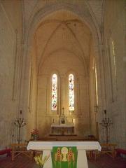 Eglise Saint-Pierre -  Le chœur de l'église de Pont-l'Abbé-d'Arnoult.