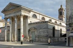 Eglise Saint-Louis - Français:   Eglise Saint-Louis a Rochefort, Charente-Maritime, France
