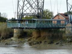 Pont transbordeur du Martrou - Français:   Nacelle du Pont Transboerdeur de Martrou Rochefort Charente Maritime France