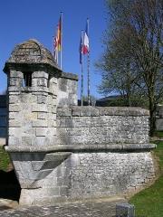 Remparts - Français:   Echauguette de l\'ancien rempart de la ville Rochefort Charente Maritime France