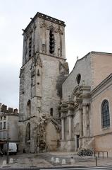 Eglise Saint-Sauveur -  Eglise Saint-Sauveur à La Rochelle