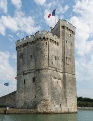 Tour Saint-Nicolas - English: Tour Saint-Nicolas, old harbor of La Rochelle, Charente-Maritime, France