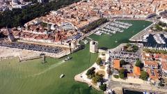 Tour Saint-Nicolas - English: Old harbour, La Rochelle, France.