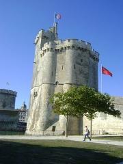 Tour Saint-Nicolas - La tour Saint-Nicolas de la Rochelle