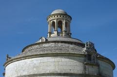 Ancienne abbaye de Montierneuf - Français:   Dôme du pigeonnier de Montierneuf Saint-Agnant Charente-Maritime France