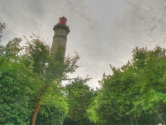 Vieux Phare des Baleines et phare des Baleineaux - This image was uploaded as part of Wiki Loves Monuments 2012.