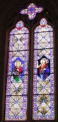 Eglise Saint-Jean-Baptiste - Français:   Église Saint-Jean-Baptiste, vitrail nord, Fr-17-Saint-Jean-d\'Angle.