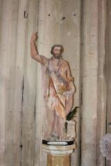 Eglise Saint-Jean-Baptiste - Français:   Statue de Saint-Jean-Baptiste, église Saint-Jean-Baptiste, Fr-17-Saint-Jean-d\'Angle.