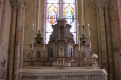 Eglise Saint-Jean-Baptiste - Français:   Église Saint-Jean-Baptiste, maître-autel, Fr-17-Saint-Jean-d\'Angle.