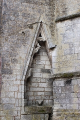 Eglise Saint-Jean-Baptiste - Français:   Église Saint-Jean-Baptiste, ancien portail, Fr-17-Saint-Jean-d\'Angle.