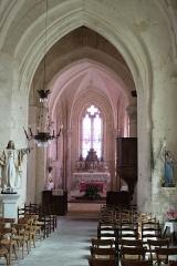 Eglise Saint-Jean-Baptiste - Français:   Église Saint-Jean-Baptiste, nef, Fr-17-Saint-Jean-d\'Angle.