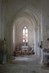 Eglise Saint-Jean-Baptiste - Français:   Église Saint-Jean-Baptiste, absidiole nord, Fr-17-Saint-Jean-d\'Angle.