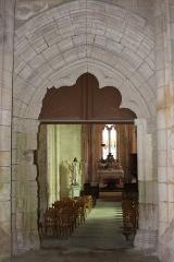 Eglise Saint-Jean-Baptiste - Français:   Église Saint-Jean-Baptiste, portail intérieur, Fr-17-Saint-Jean-d\'Angle.