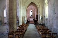Eglise Saint-Jean-Baptiste - Français:   Nef de l\'église Saint-Jean-Baptiste Saint-Jean-d\'Angle Charente-Maritime France