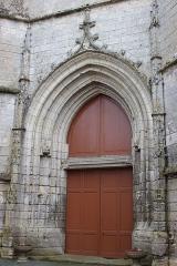 Eglise Saint-Jean-Baptiste - Français:   Église Saint-Jean-Baptiste, portail, Fr-17-Saint-Jean-d\'Angle.