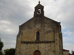 Eglise Saint-Julien - Français:   Le clocher de l\'église de Saint-Julien-de-l\'Escap