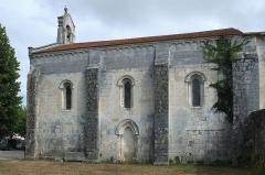 Eglise Saint-Julien - Français:   Église Saint-Julien, Saint-Julien-de-l\'Escap Charente-Maritime France