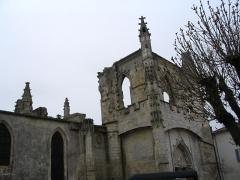 Eglise Saint-Martin dite Le Grand Fort - Français:   Église Saint-Martin de Saint-Martin-de-Ré