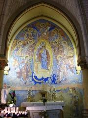 Eglise Saint-Pierre - English: Saint-Pierre-d'Oléron ( Ile d'Oleron ).Saint-Pierre parish church - Virgin Mary chapel ( 1876 ) with frescos by Nicolai Greschny.