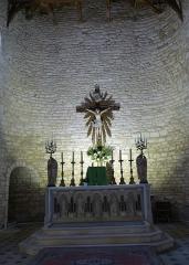 Eglise Saint-Pierre - English: Saint-Pierre-d'Oléron ( Ile d'Oleron ).Saint-Pierre parish church - Main altar ( 1889 )