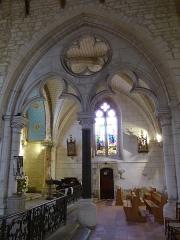 Eglise Saint-Pierre - English: Saint-Pierre-d'Oléron ( Ile d'Oleron ).Saint-Pierre parish church - Virgin Mary chapel ( 1876 )