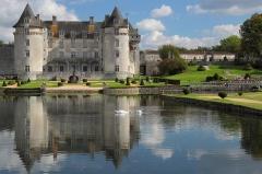 Château de la Rochecourbon - Français:   Château de la Roche-Courbon