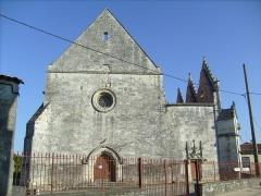 Ancienne église abbatiale -  Abbaye des Augustins, Saint-Savinien (17).
