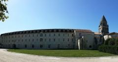 Ancienne abbaye des Dames - Abbaye aux Dames, Saintes (17).