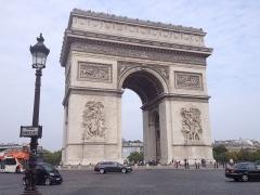Arc de Triomphe - Français:   L\'Arc de Triomphe, à Paris