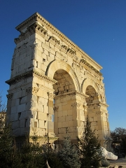 Arc de Triomphe - Français:   Arc de Germanicus, Saintes