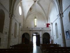 Eglise Saint-Pallais - English:   Saintes ( Charente-Maritime ). Saint-Pallais church - Interior.