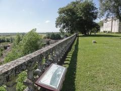 Château de Taillebourg - English: Taillebourg (Charente-Maritime) Château, la terrasse