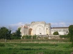 Ruines de l'ancienne abbaye -  Abbaye de Trizay
