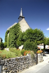 Ancienne église Sainte-Croix, dite aussi chapelle Sainte-Radegonde - Deutsch: Angles-sur-l'Anglin, Saint-Croix, ehem. Abteikirche