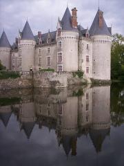 Château - Français:   Château de Bourg-Archambault