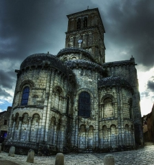 Eglise Saint-Pierre - Français:   Collegiale Saint Pierre de Chauvigny